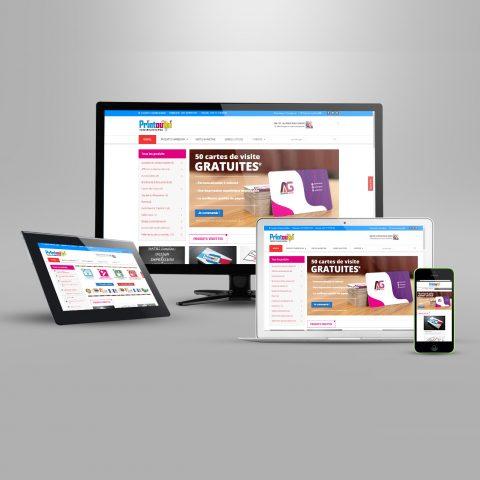 Offres de conception et réalisation de site web au Sénégal - Impression en ligne et Digital Marketing